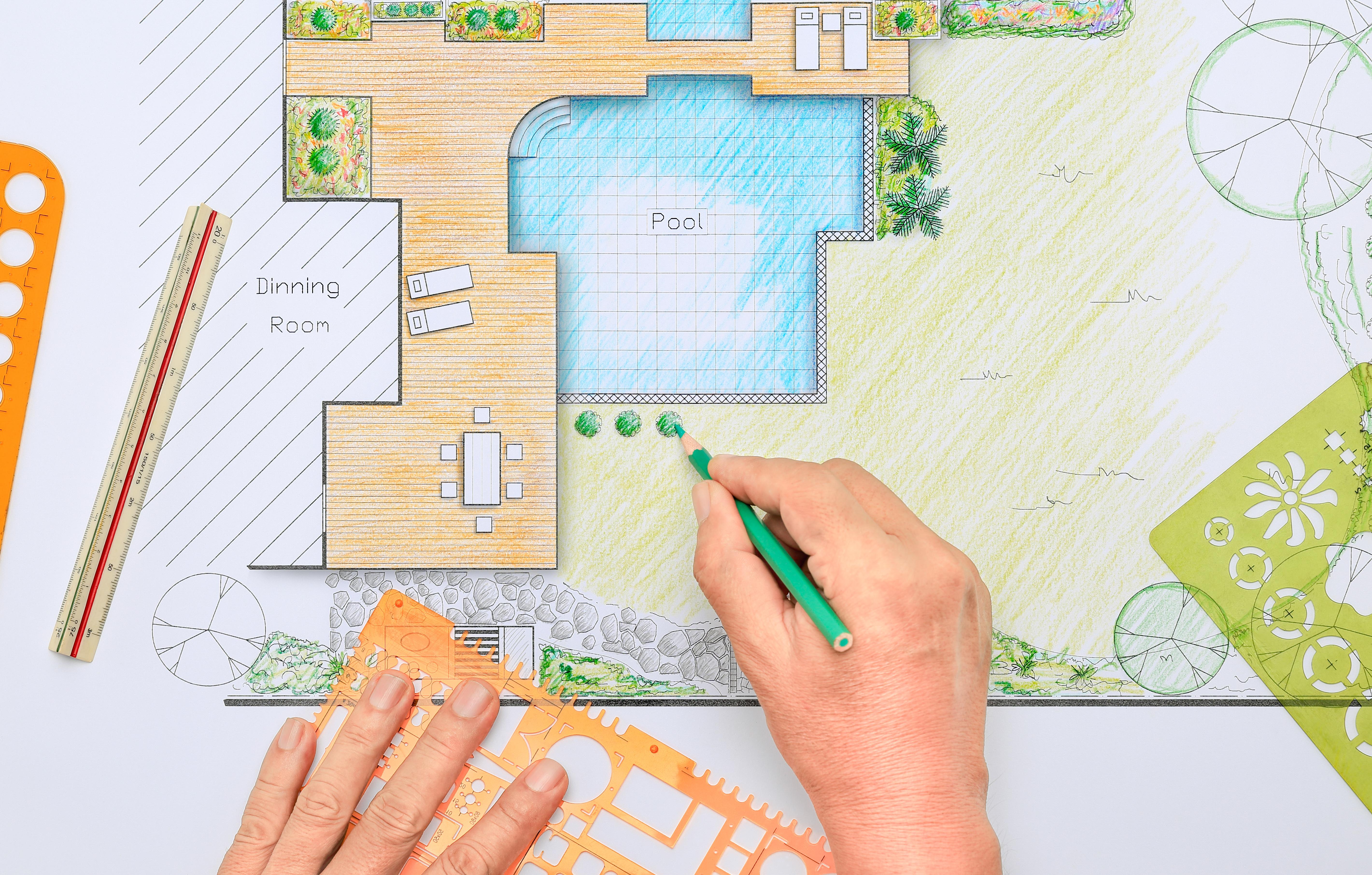 Quel est le temps de construction d 39 une piscine hors sol - Construction piscine reglementation ...