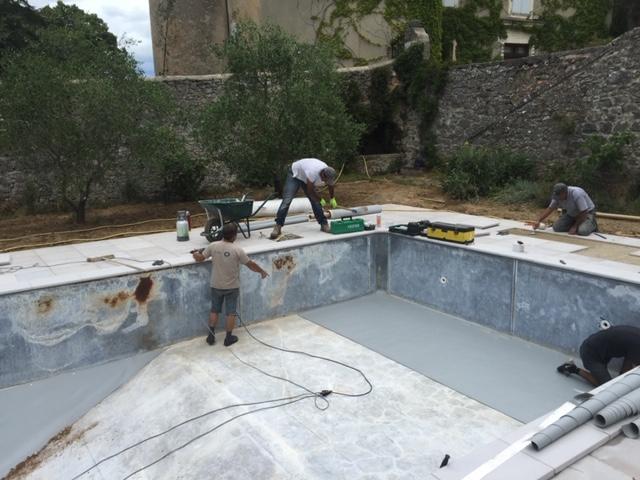 Rénovation de bassin existant