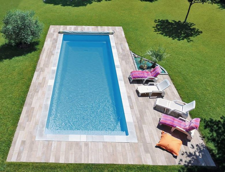 Piscine coque polyester gamme Kryptonite