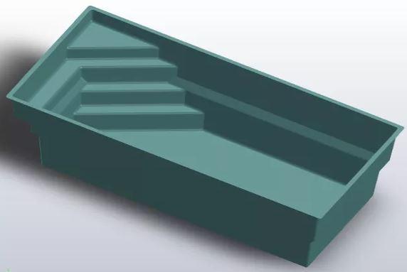 Modèle 3D bassin